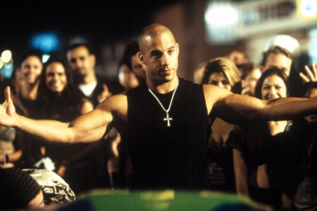 THE FAST AND THE FURIOUS, Vin Diesel, 2001, (c) Universal/courtesy Everett Collection