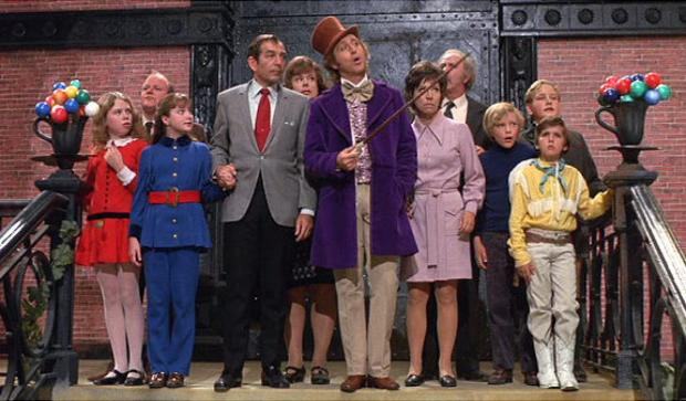 WILLY WONKA AND THE CHOCOLATE FACTORY, 1971, Warner Brothers