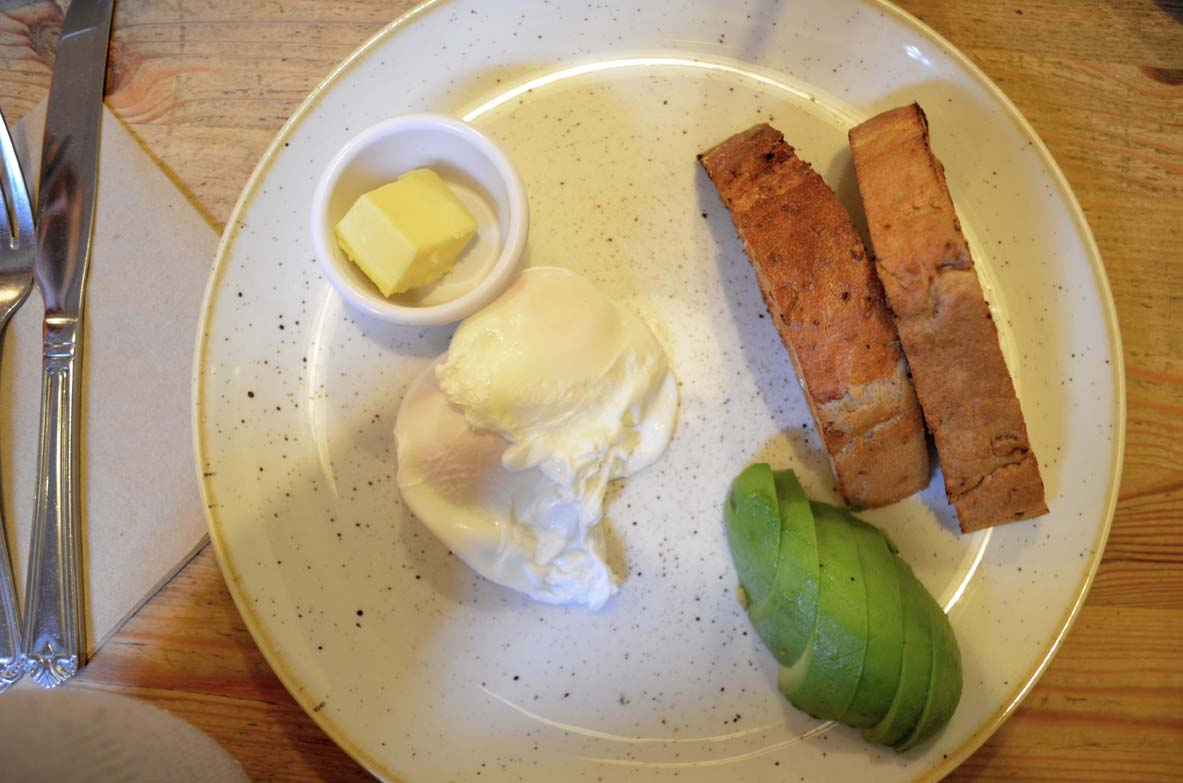 Poached Eggs and Avocado | UrbanAngel Review